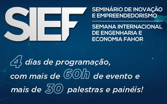 Jaime Wagner ministra palestra no Seminário de Inovacao e Empreendedorismo da FAHOR